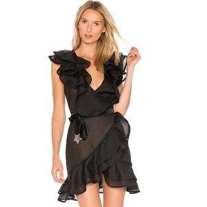 FL&L Bowie Star Organza Dress in Black 🖤